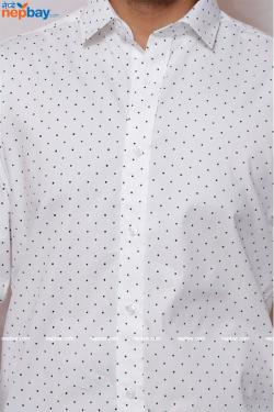 Urvan Valley - Party Wear - Full Shirt, Slim Fit - (A0378)