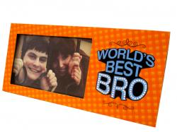 World's Best Bro Photo Frame