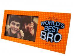 World's Best Bro Photo Frame