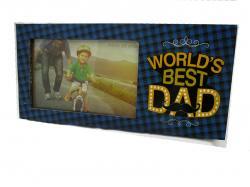 World's Best Dad Photo Frame