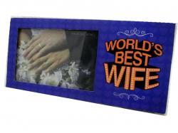 World's Best Wife Photo Frame