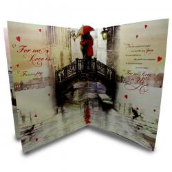 You Are The One For Me Sweetheart Card - (ARCH-452)