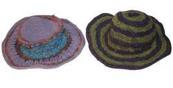 Tar Hat with Cotton Hemp Silk Mix (DT-CH-006)