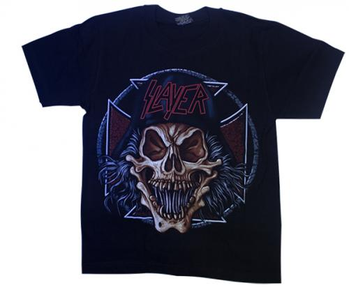 Slayer Printed Black T-Shirt