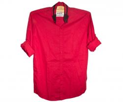 Red Mens Red Shirt - 100% Cotton