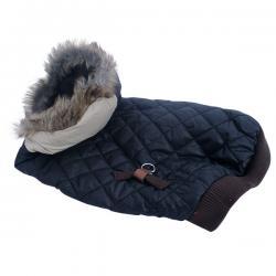 Black Warm Jacket for Dog
