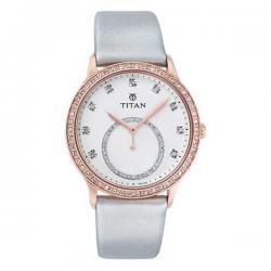 Leather Band Women's Titan Watch
