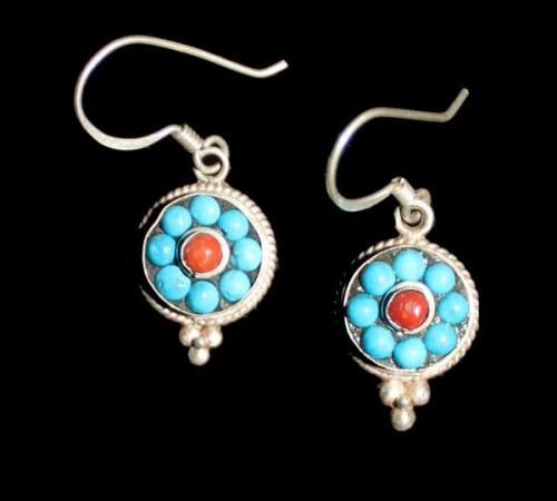 Small Multistone Earring