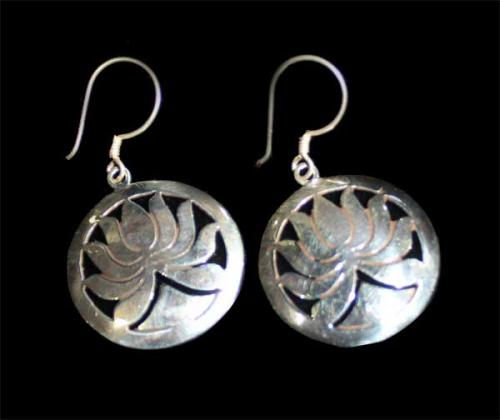 Lotus Design Earring