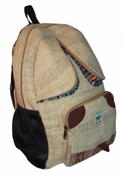Light Gray color with Hemp cotton jute silk bag (DT-HB-006)