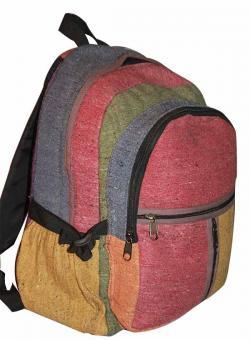 Mixed Color Hemp Cotton Jute Silk Bag (DT-HB-005)