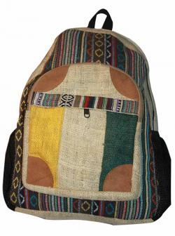 Colorful Hemp Jute Cotton Bag (DT-HB-001)