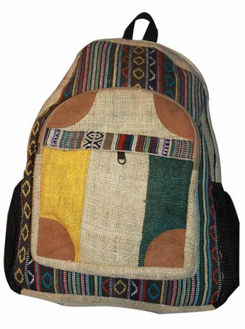 Colorful Hemp Jute Cotton Bag (DT-HB-001)