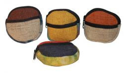 Pure Hemp Round Coin Purse (DT-PW-005)