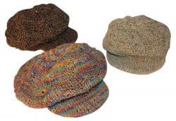 Cap Made with Cotton, Hemp, Mix Silk (DT-CH-005)