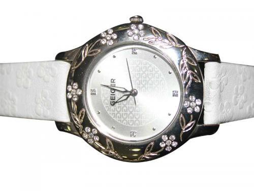 Geiger Leather Strap Fashion Watch (GE-370-M)