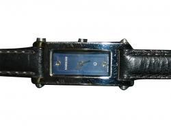 Samsung Black Leather Strap Watch (KS4563-14V)