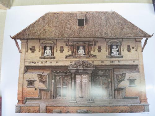 Temple of Unmatta Bhairava at Panati Nepal by Robert Powell
