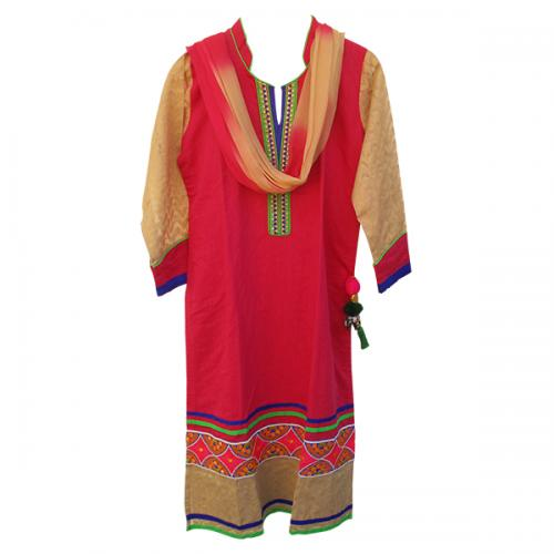 Soft Cotton Kurta With Duppatta (IC-32)