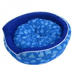 Blue Color Dog & Cat Mattress (Woven Cotton)