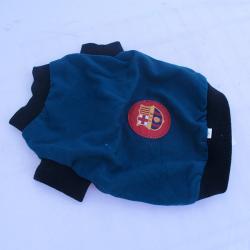 Barcelona Football T-Shirt for Dog Size 12