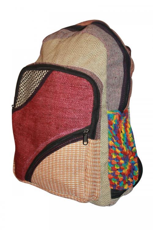 Stylese Chain Jute Silk Cotton Hemp Bag (DT-HB-017)