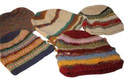 Cotton Hemp Silk Mix Roll Hat (DT-CH-004)