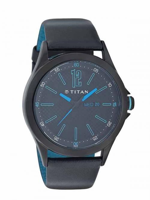 Titan Blue Men's Watch