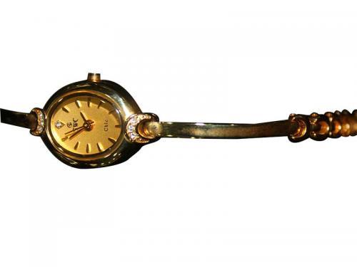 Samsung Golden Analog Bracelet Watch For Ladies (SKR-4852-NSM)
