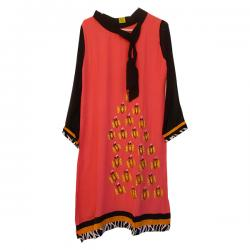 Gorget Tunic With Butterfly Embroidery (MC-06)