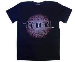 Tool Printed Black T-Shirt