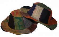 Dark Color Cotton Hemp Jute Hat (DT-CH-003)