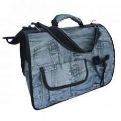 Jeans Dog Bag