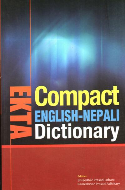 Ekta Compact Eng-Nep Dictionary