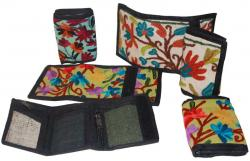 Kashmiri with Flower 3 fold Wallet (DT-PW-002)