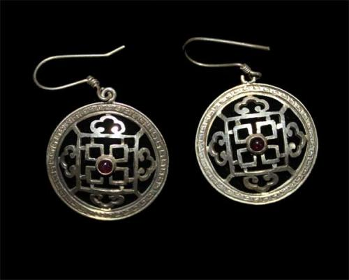 Great Mandala Design Earring