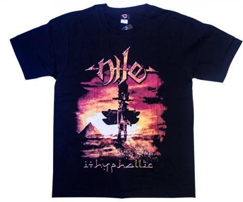 Nile Printed Black T-Shirt