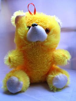 Hanging Yellow Teddy - (FLOWERHOUSE-008)