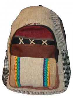 "Light ""X"" Color Hemp Jute Silk Cotton Bag (DT-HB-013)"