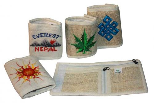 Pure Hemp with Imbradi with 2 Fold Purse (DT-PW-001)