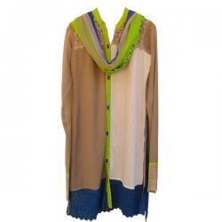Gorget Full Suit With Sibori Print Duppatta (DF)