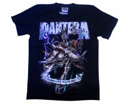 Black Pantera Printed T-Shirts