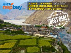 Upper Mustang, Muktinath &Pokhara 7Days /6 Nights