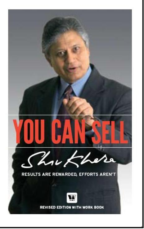 You Can Sell (Shiv Khera)
