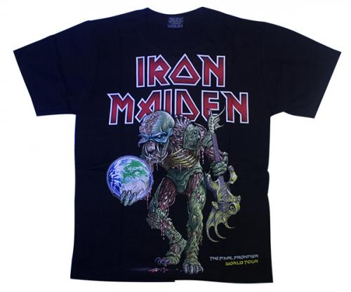 Black Iron Maiden Printed T-Shirt