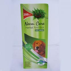Neem Care Herbal Anti-tick Dog Wash Shampoo - 200ml