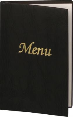 leather menu cover