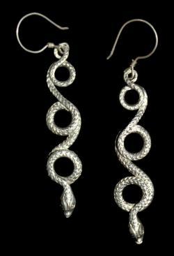 Long Snake Earring for Women