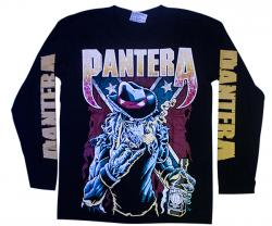 Black Pantera Printed Full T-Shirt