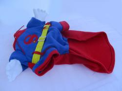 Superman Jacket for Dog